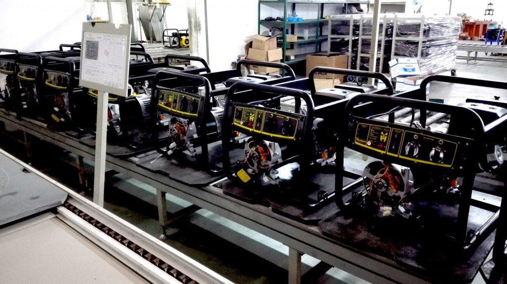 Fabricación generadores eléctricos Guardián