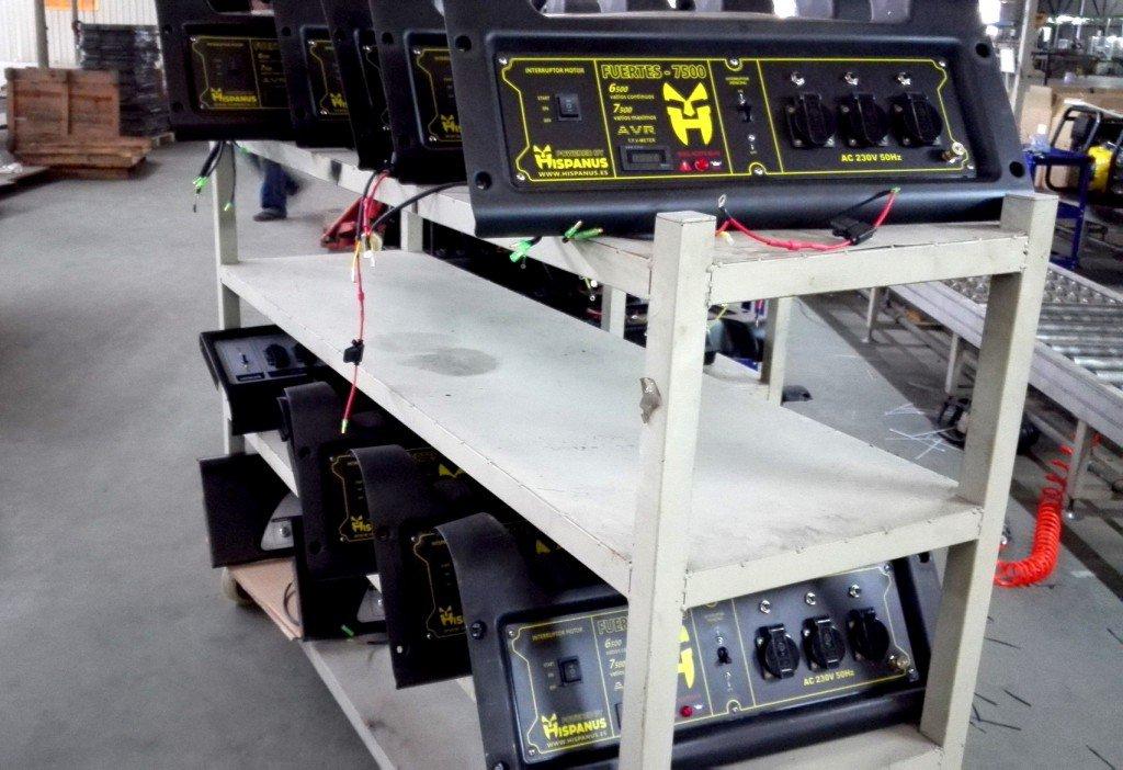 Fabricación generadores eléctricos