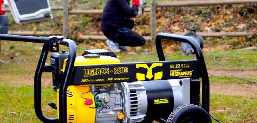 Generadores ligeros 3500